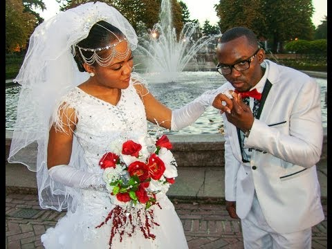 BEAUTIFUL CONGOLESE WEDDING 1 OF 4 AFRICAN PATRICK & RACHEL. PORTLAND OREGON USA