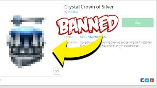 THESE ITEMS ARE BANNED FROM ROBLOX?! *HIDDEN*
