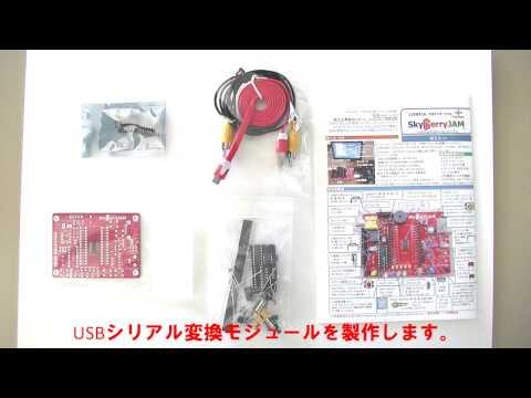 IchigoJam互換のプログラミング学習用PC「SkyBerryJAM」