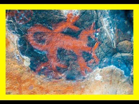 Hidden Chumash Pictographs of California Coast