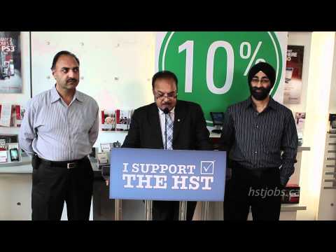 HST Referendum: C.J. Financial Solutions Inc Supports the HST in BC