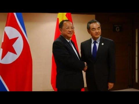 China urges N. Korea to stop missile tests, resume talks