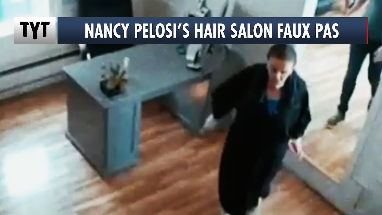 Nancy Pelosi Hair Salon Video A Setup?