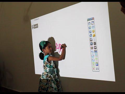 Portable Frameless Interactive White Board Kit