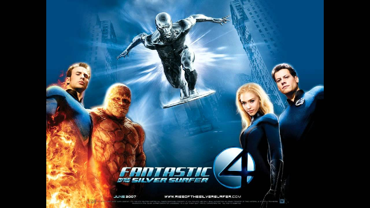 fantastic four silver surfer