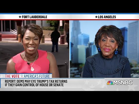 Maxine Waters: People In Final Analysis Will Understand How Divisive President Is | AM Joy | MSNBC