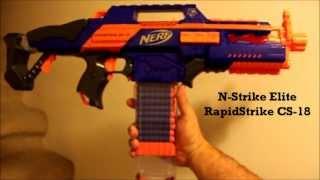Nerf N-Strike Elite RapidStrike CS-18 Review