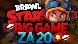 BIG GAME ZA 20 TICKETÓW  BRAWL STARS POLSKA  (odc.70)