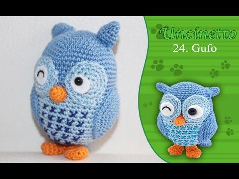 Amigurumi Uncinetto Tutorial Italiano : Uncinetto amigurumi gufo how to do owl youtube