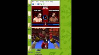 don king boxing nds gameplay