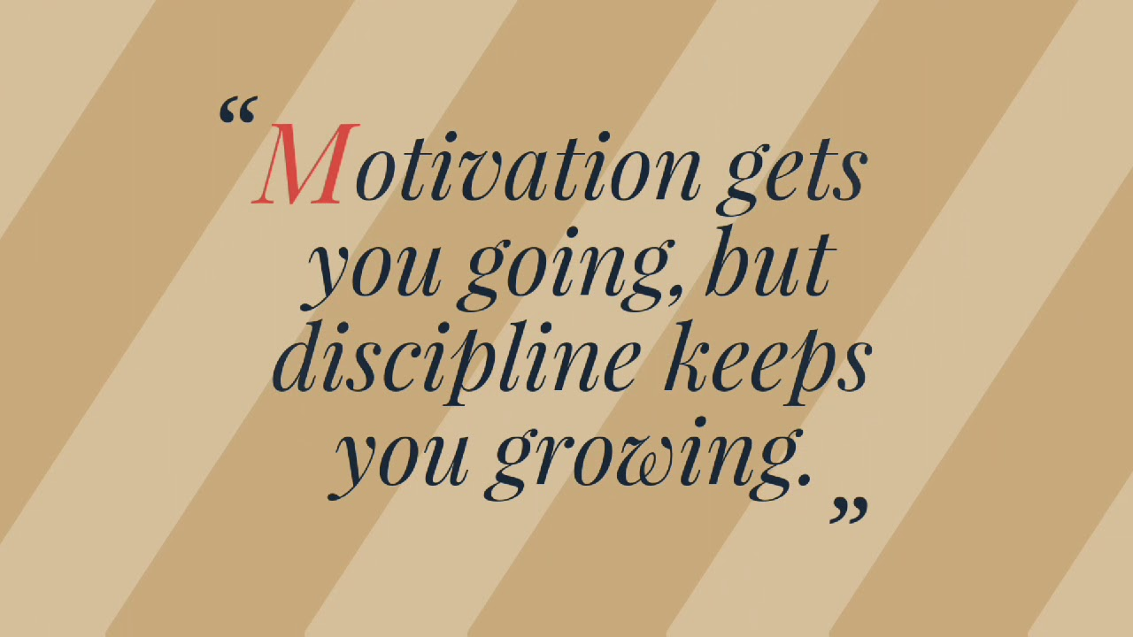 Top 10 Inspirational Quotes On Discipline Mobile Memes The