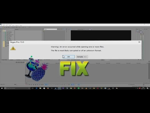 Sony Vegas Pro: MP4/AVI CODEC/ FILE OPENING ERROR FIX [EASY|2017]