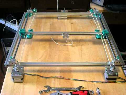 h bot 3d printer hb1 dry test no 4 youtube. Black Bedroom Furniture Sets. Home Design Ideas