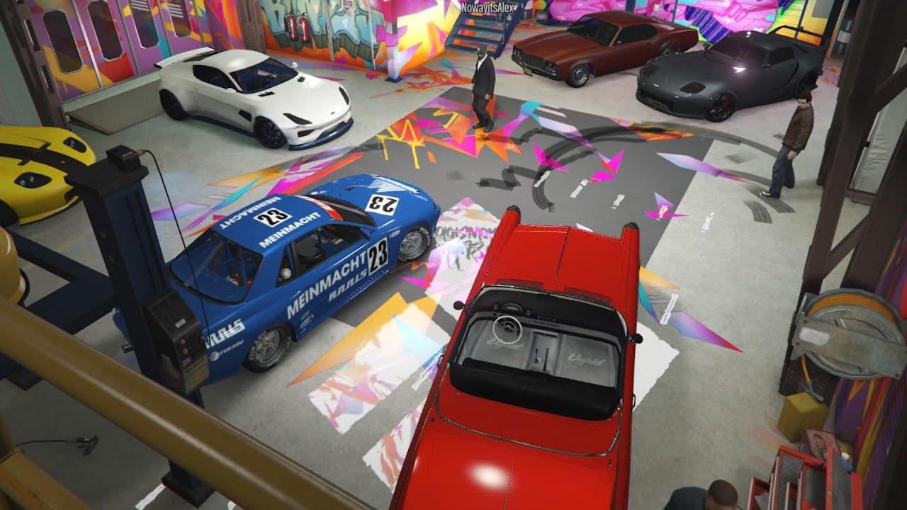 Livestream - GTA 5 - BENNY'S CAR MEET and Racing Playist PS4