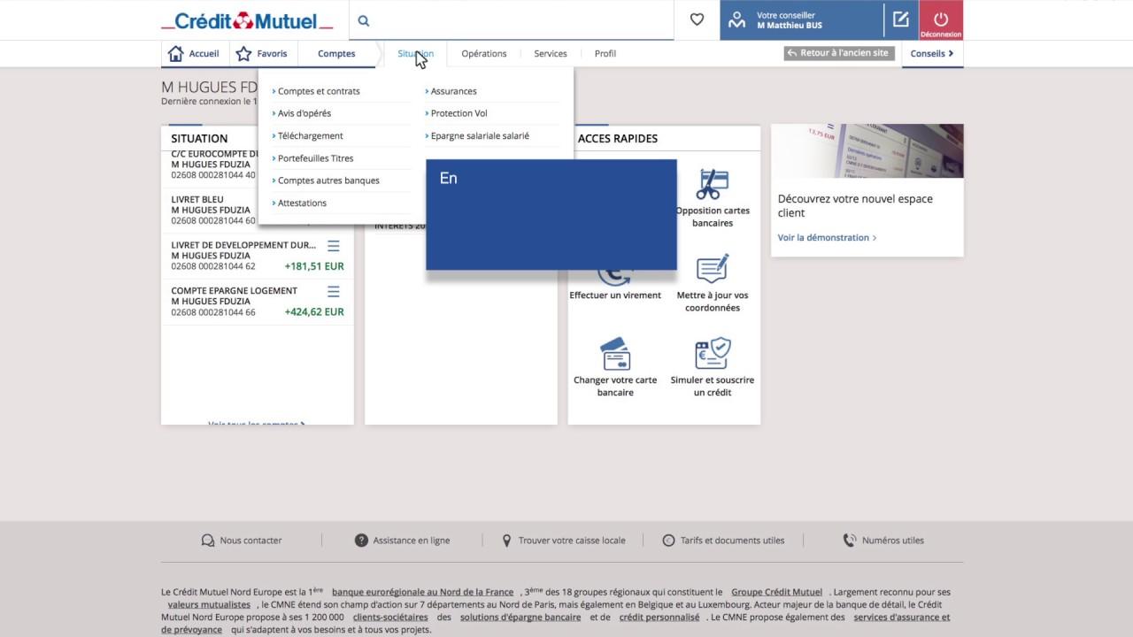 Decouvrez Les Fonctionnalites Votre Banque En Ligne Du Credit Mutuel Nord Europe