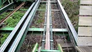 Green Dragon Coaster - Greenwood Forest Park front seat onride POV