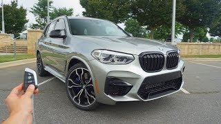 2020 BMW X3 M Competition: Start Up, Exhaust, Test Drive and Review