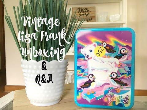 Garage Sale Unboxing-Lisa Frank!