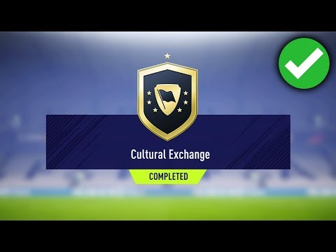 CULTURAL EXCHANGE SBC *CHEAP* (FIFA 18 CULTURAL EXCHANGE SQUAD BUILDER CHALLENGE COMPLETED)