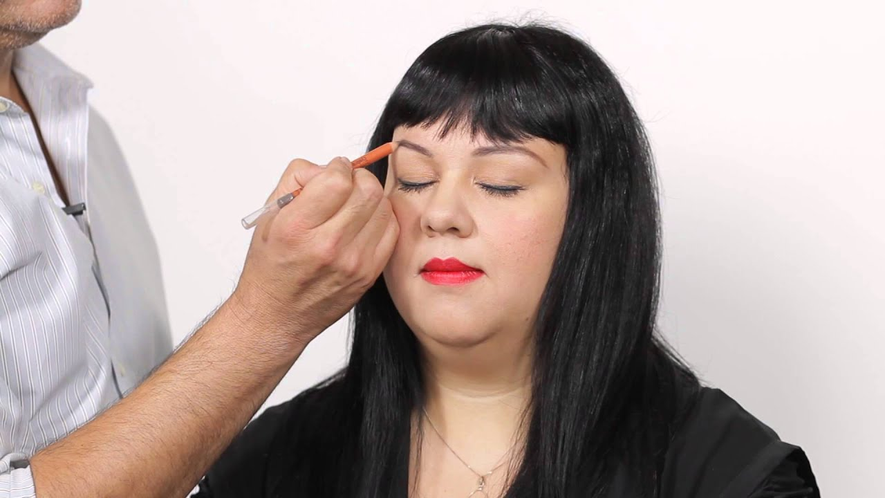 How To Arch High Round Eyebrows Makeup Maven Youtube