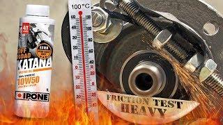 Ipone Katana Off Road 10W60 4T Jak skutecznie olej chroni silnik? 100°C