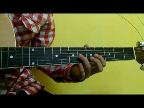 Sabin Rai Ma Sansar Jitne Guitar Lesson