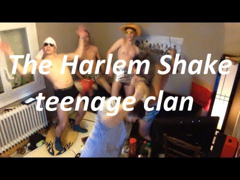 Harlem Shake - teenage Clan