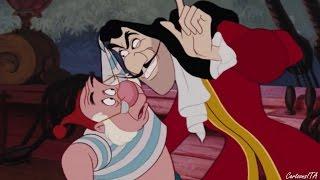 Capitan Uncino cerca la tana di Peter - Le avventure di Peter Pan