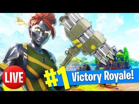 NIEUWE SKIN EN PICKAXE! (Fortnite: Battle Royale Livestream Nederlands) thumbnail