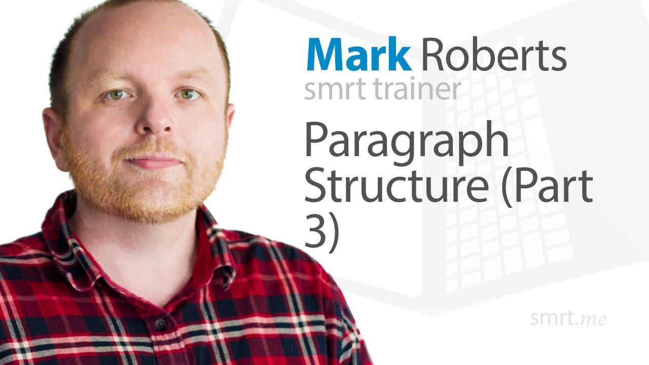 Paragraph Structure (Part 3)