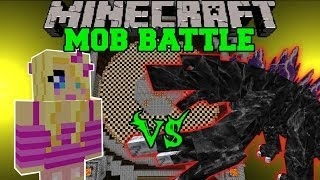 GIRLFRIEND VS MOBZILLA - Minecraft Mob Battles - OreSpawn Mod