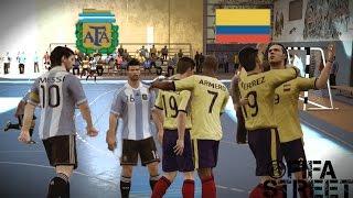 Fifa Street Gameplay- Argentina Vs Colombia en Futbol Sala, Un duelo de proporciones EPICAS!