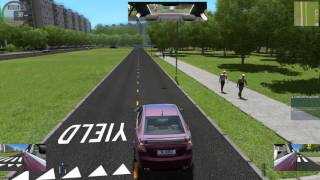 City Car Driving (PC) Gameplay