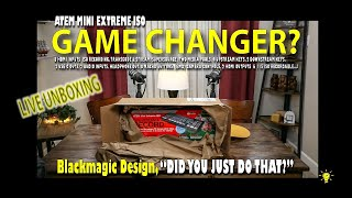 """ATEM MINI EXTREME ISO UNBOXING, """"IS IT A GAME CHANGER?"""""""