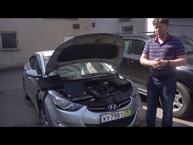 Исследование ЦПГ: Два Hyundai Elantra 1.8 G4NB