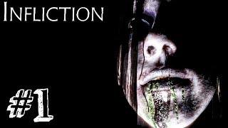 МАНЬЯЧИНА! ► Infliction Прохождение #1 ► ИНДИ ХОРРОР ИГРА