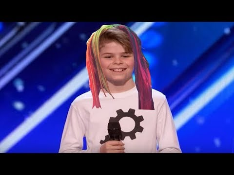 Kid on America's Got talent dances to Gummo By 6ix9ine