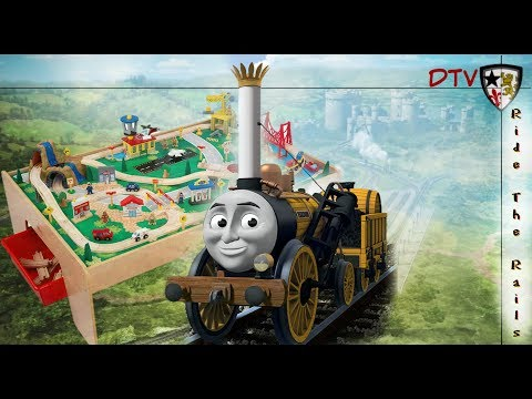 Ride the Rails with STEPHEN | Kid Kraft Waterfall Mountain TRAIN TABLE | Thomas & Friends