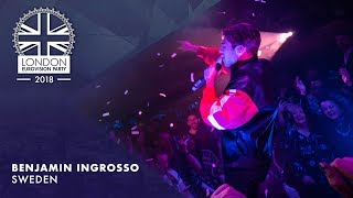 Benjamin Ingrosso - Dance You Off - SWEDEN | LIVE | OFFICIAL | 2018 London Eurovision Party