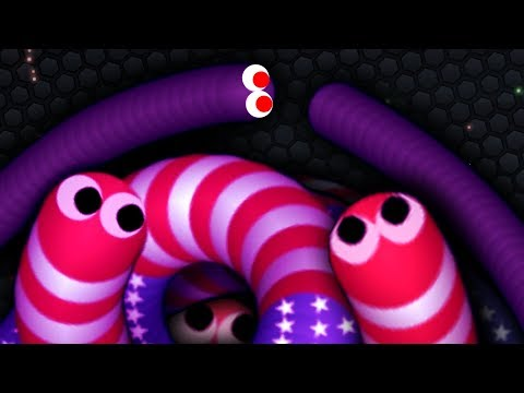 Slither.io Best Trolling Gameplay Never Mess With Tiny Snakes Epic Slitherio Funny Moments