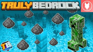 Truly Bedrock SMP - S2 : E14 - Making a Creeper Farm! (Gunpowder Farm)