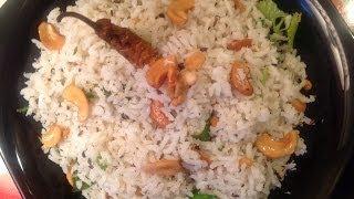 Coconut Rice In Telugu