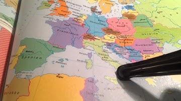 Europakarte lernen - Länder Europas auswendig lernen