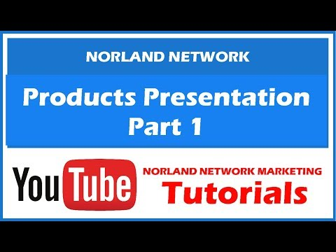 Norland Products Presentation by Leader Gwen 1