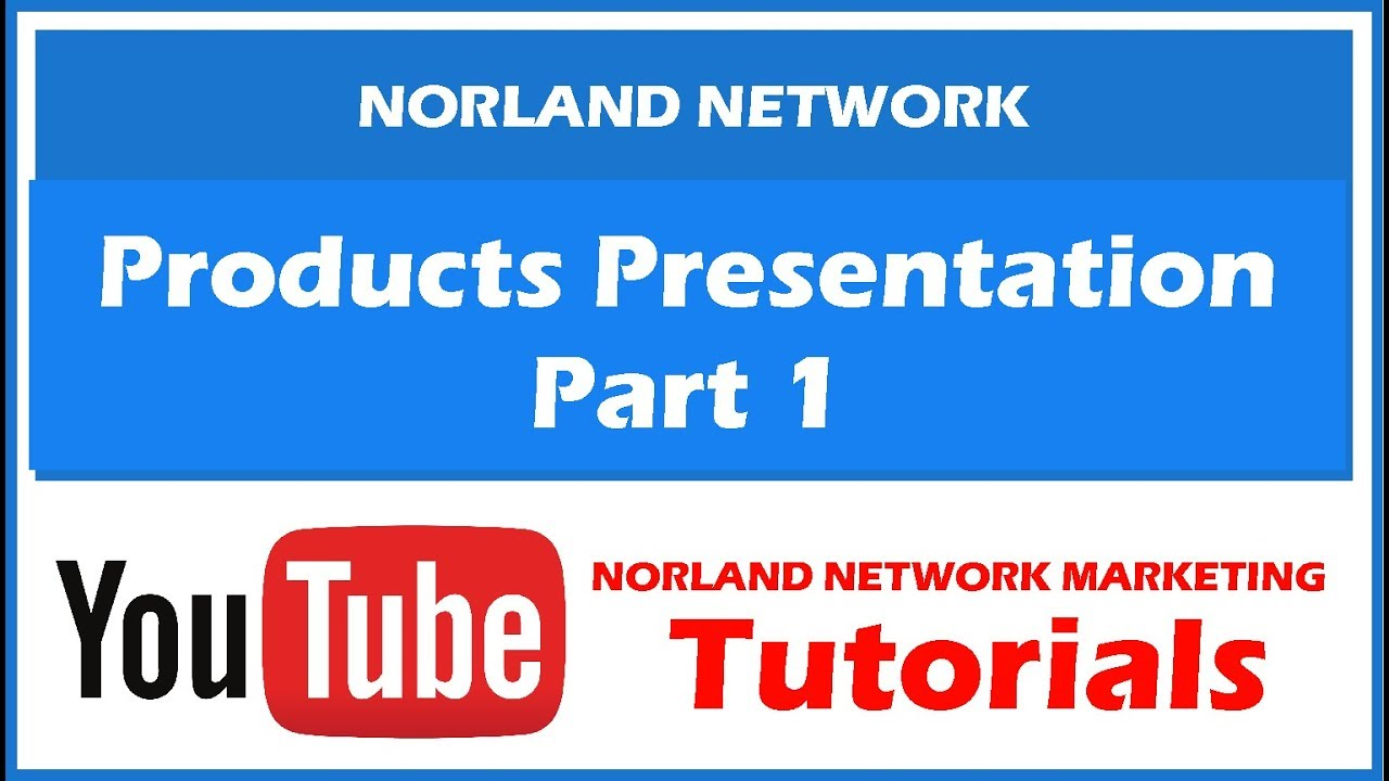 Norland Products Presentation By Leader Gwen 1 YouTube