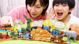 カプセルプラレール きかんしゃトーマス キラキラボディ編/capsule toy Thomas and friends