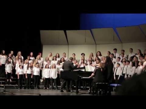 Caldwell County Middle School All County Chorus Singing Mirrors