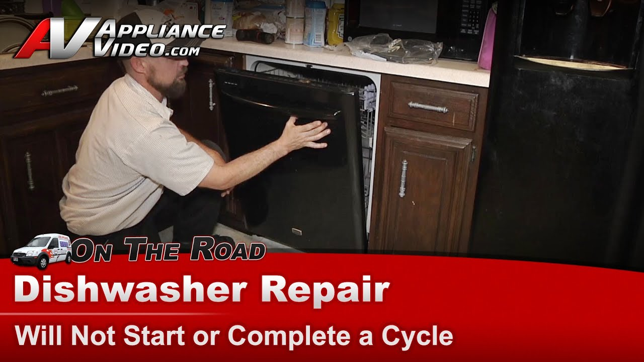 Maytag dishwasher repair will not start or complete a cycle maytag dishwasher repair will not start or complete a cycle mdb6769pab0 youtube solutioingenieria Images