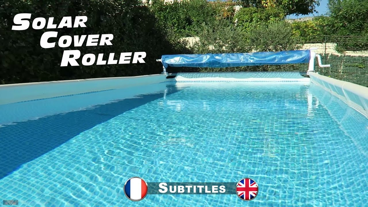enrouleur bache bulles pour piscines hors sol youtube. Black Bedroom Furniture Sets. Home Design Ideas