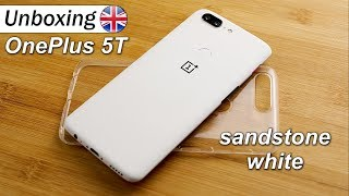 OnePlus 5T Sandstone White | Unboxing & OnePlus One Throwback